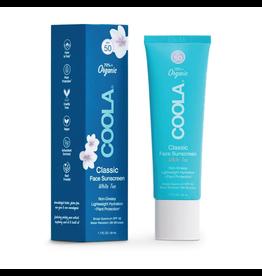 COOLA SPF 50 Sport Face White Tea Organic Sunscreen Lotion
