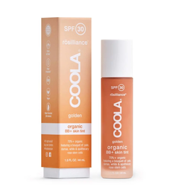 COOLA SPF 30 Rosilliance Mineral Tinted BB+ Cream Organic Sunscreen