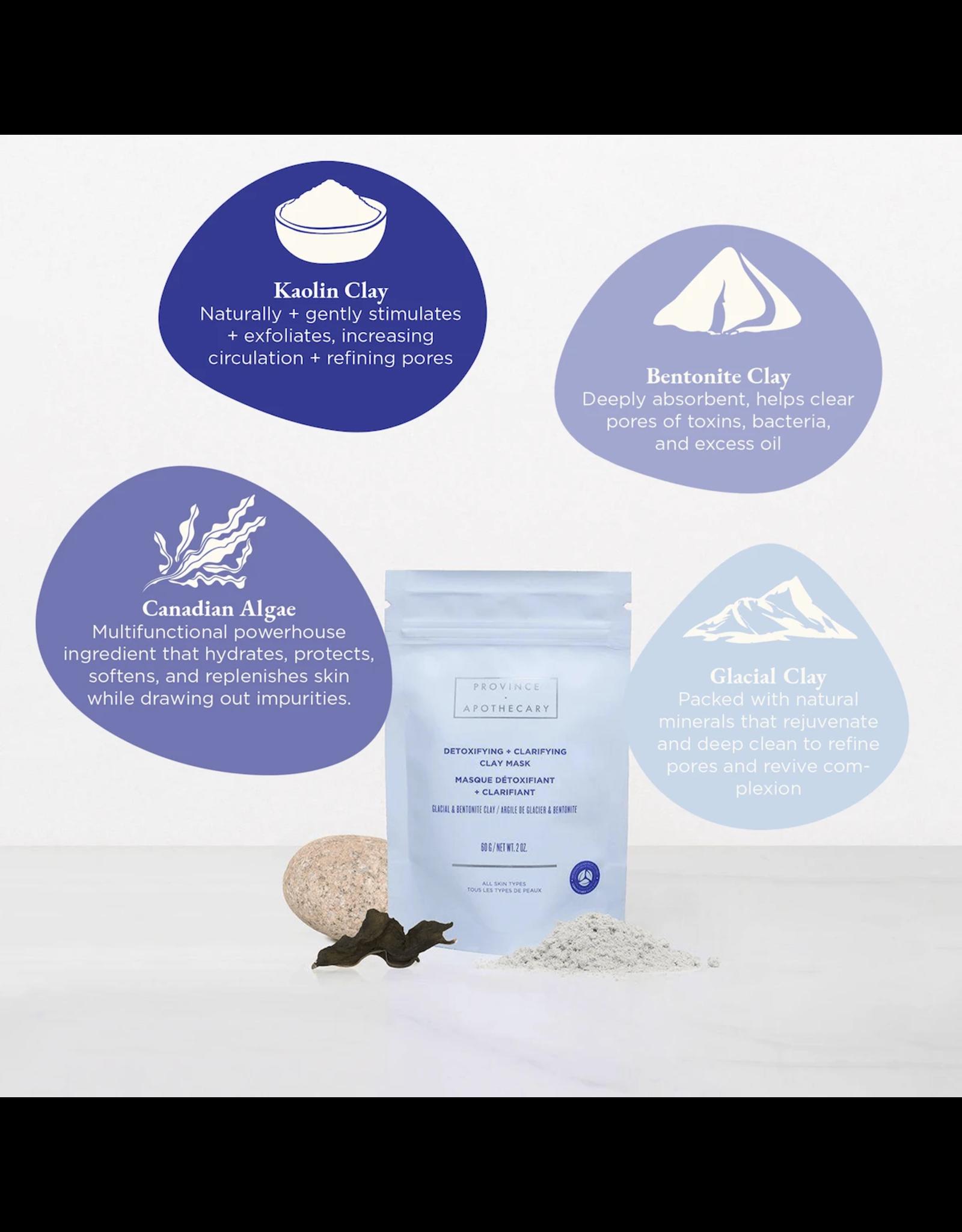 Province Apothecary PA Detoxifying + Clarifying Clay Mask