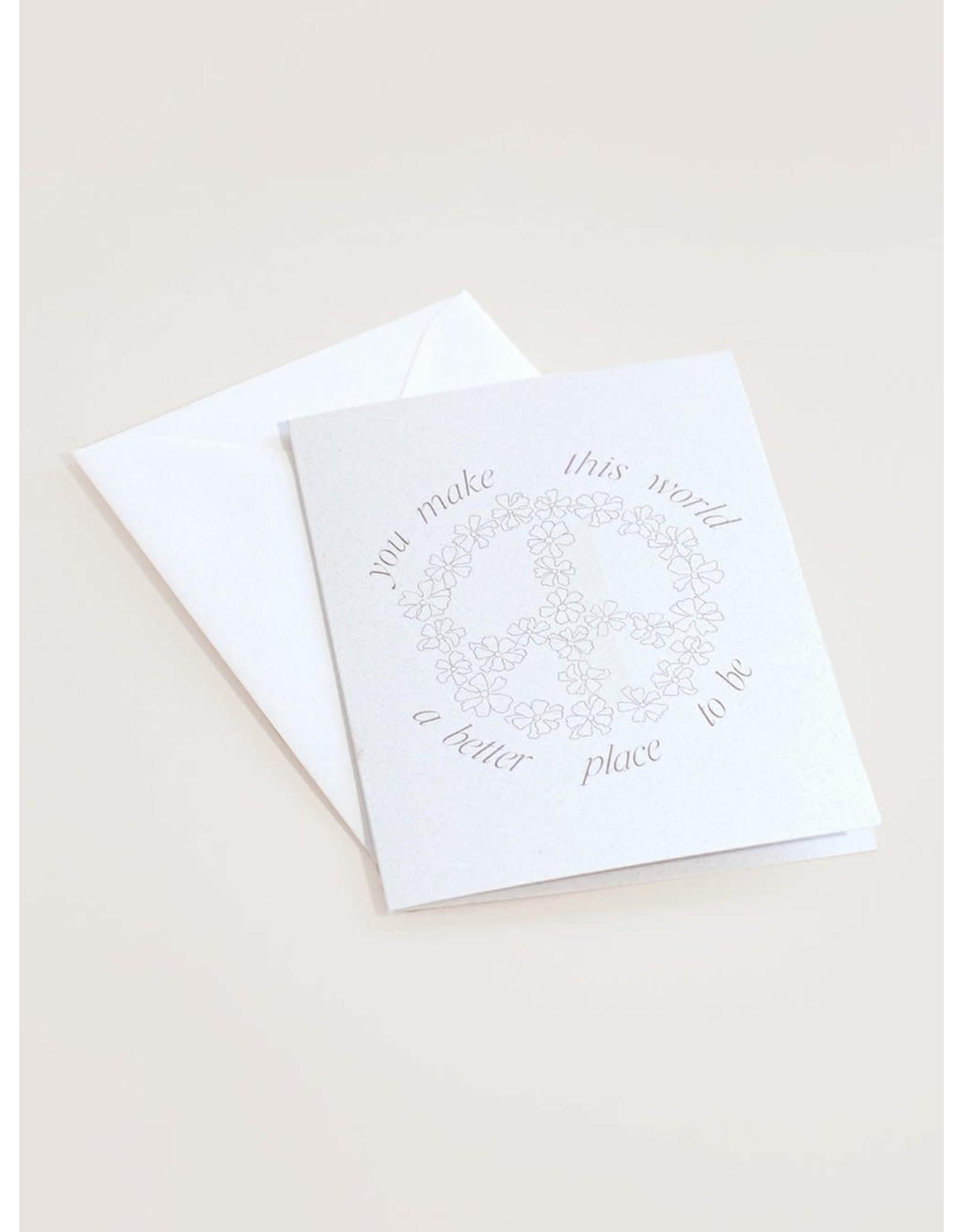 Wilde House Paper A Better World Card