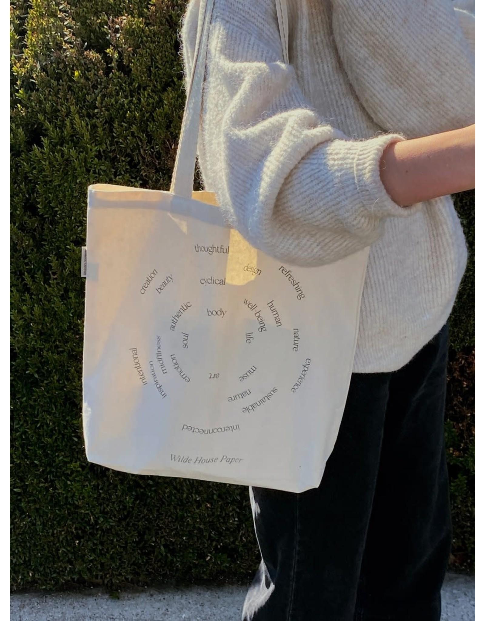 Wilde House Paper Human Nature Tote Bag