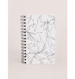 Wilde House Paper Flora Weekly Planner