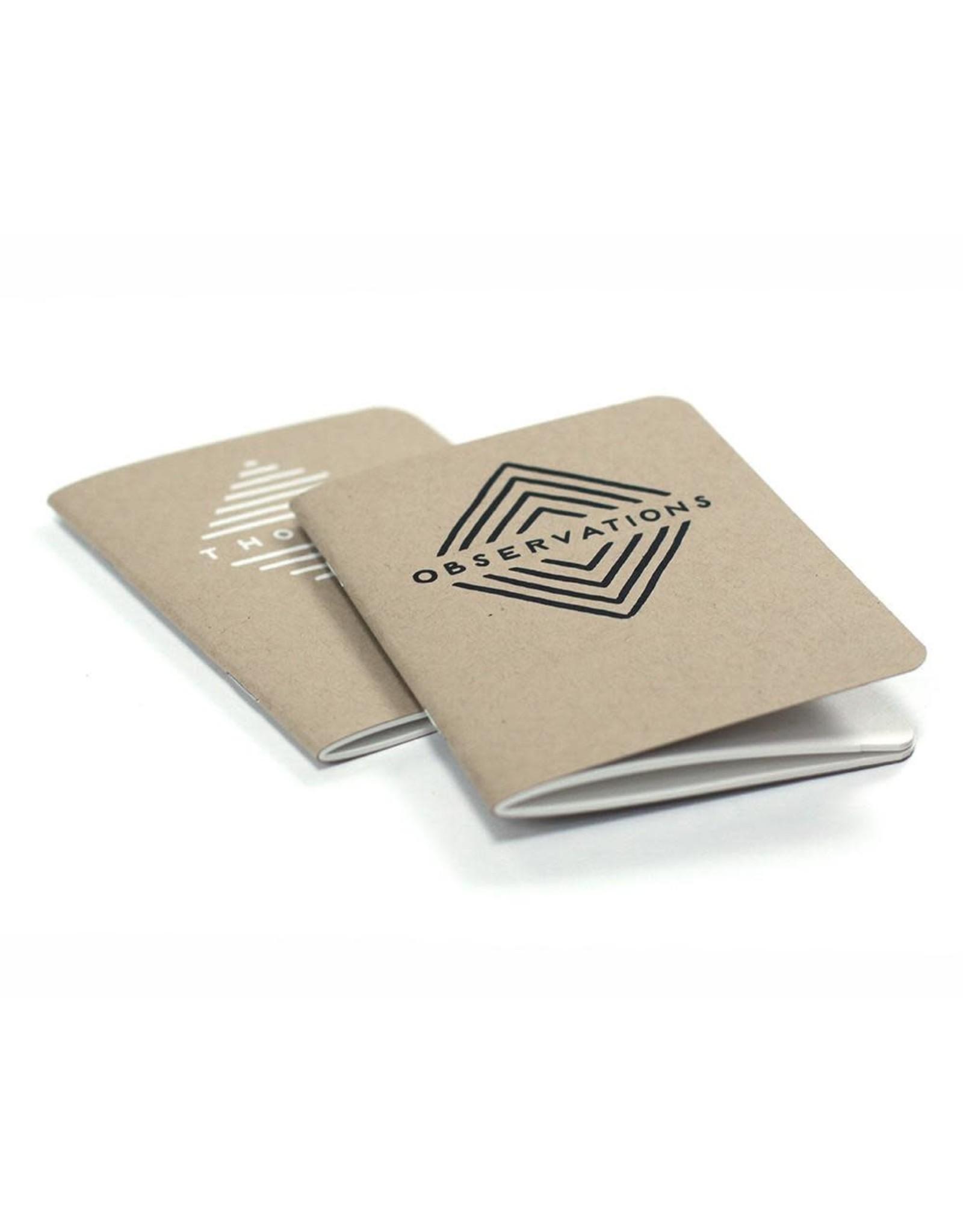 Worthwhile Paper Pocket Journal Set - Thoughts & Observations
