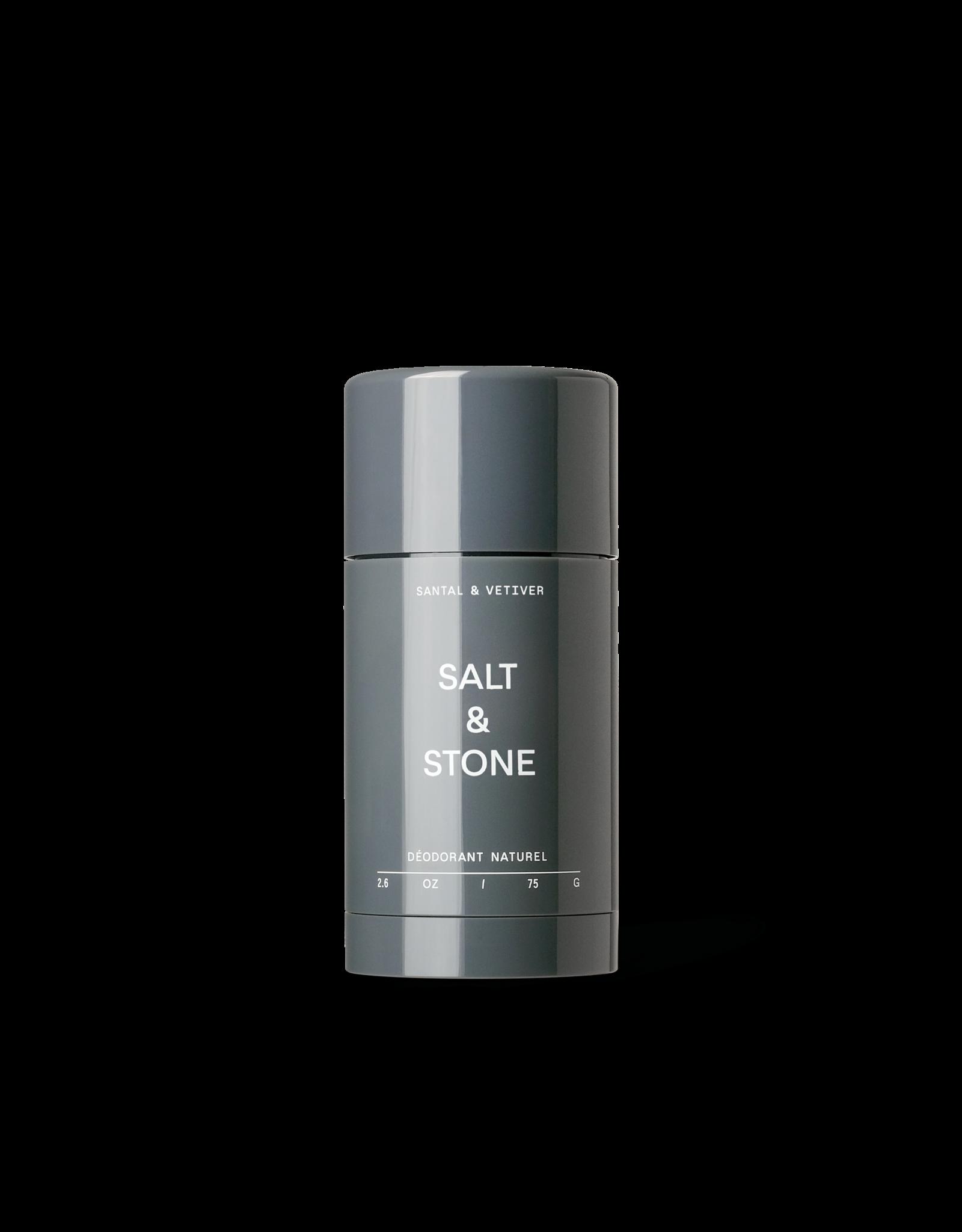 Salt & Stone Vetiver & Sandalwood Natural Deodorant - Formula No. 2