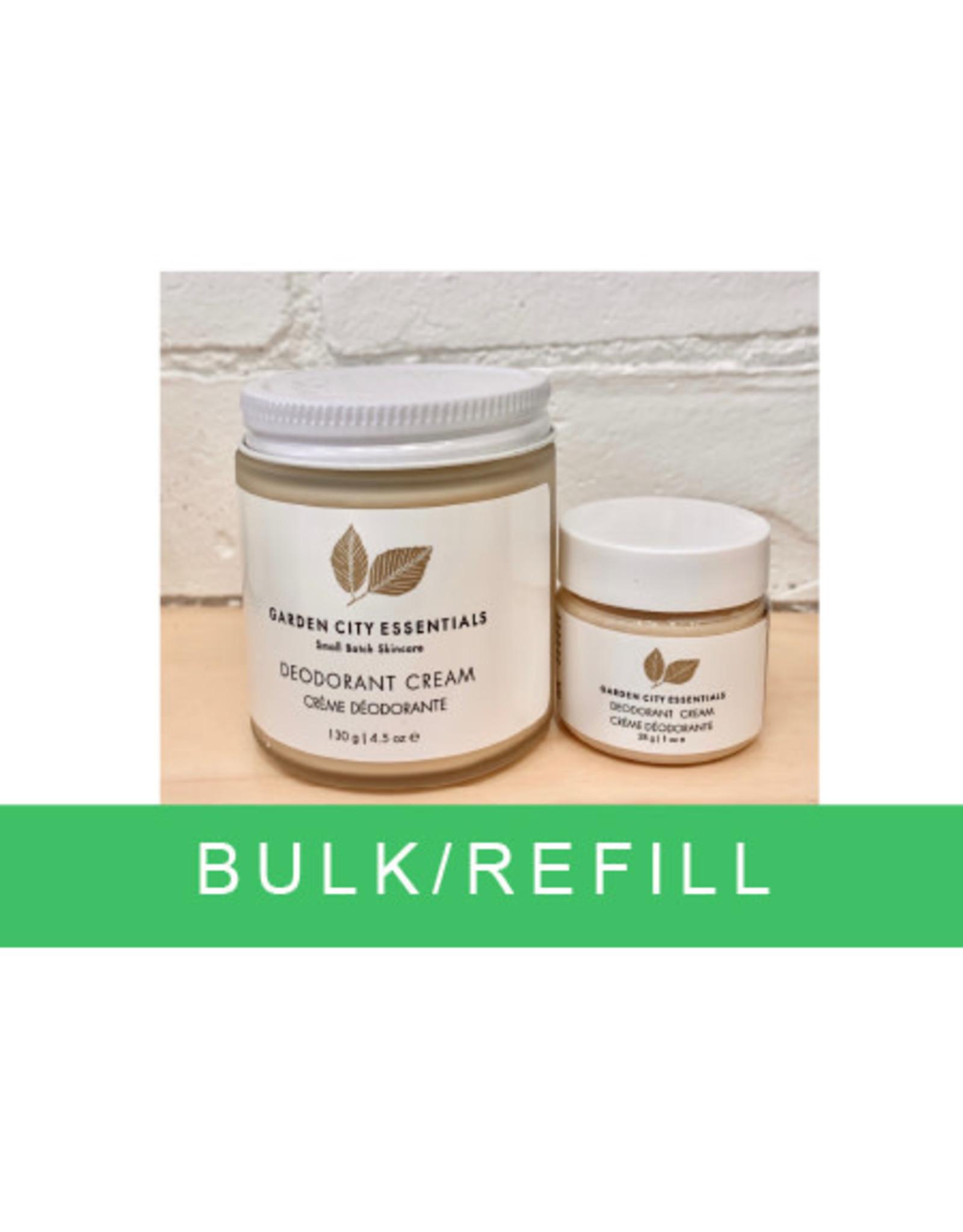 Garden City Essentials Deodorant Cream bulk/100g