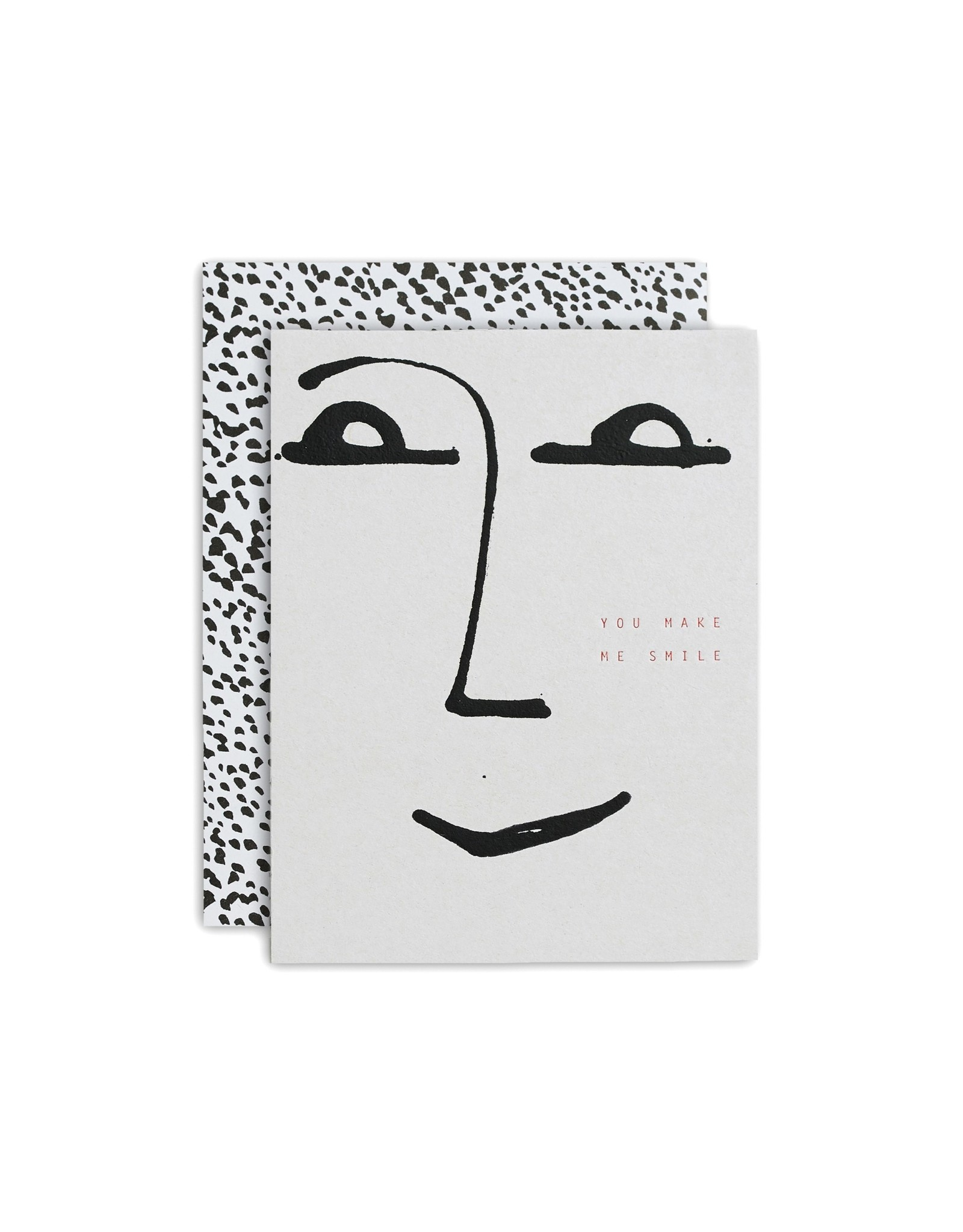 Moglea The Smile Greeting Card