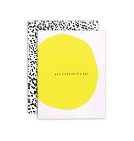 Moglea Brighten My Day Greeting Card