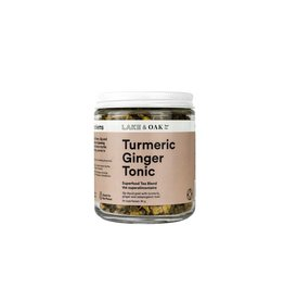 Lake & Oak Tea Co. Turmeric Ginger Tonic - Superfood Tea