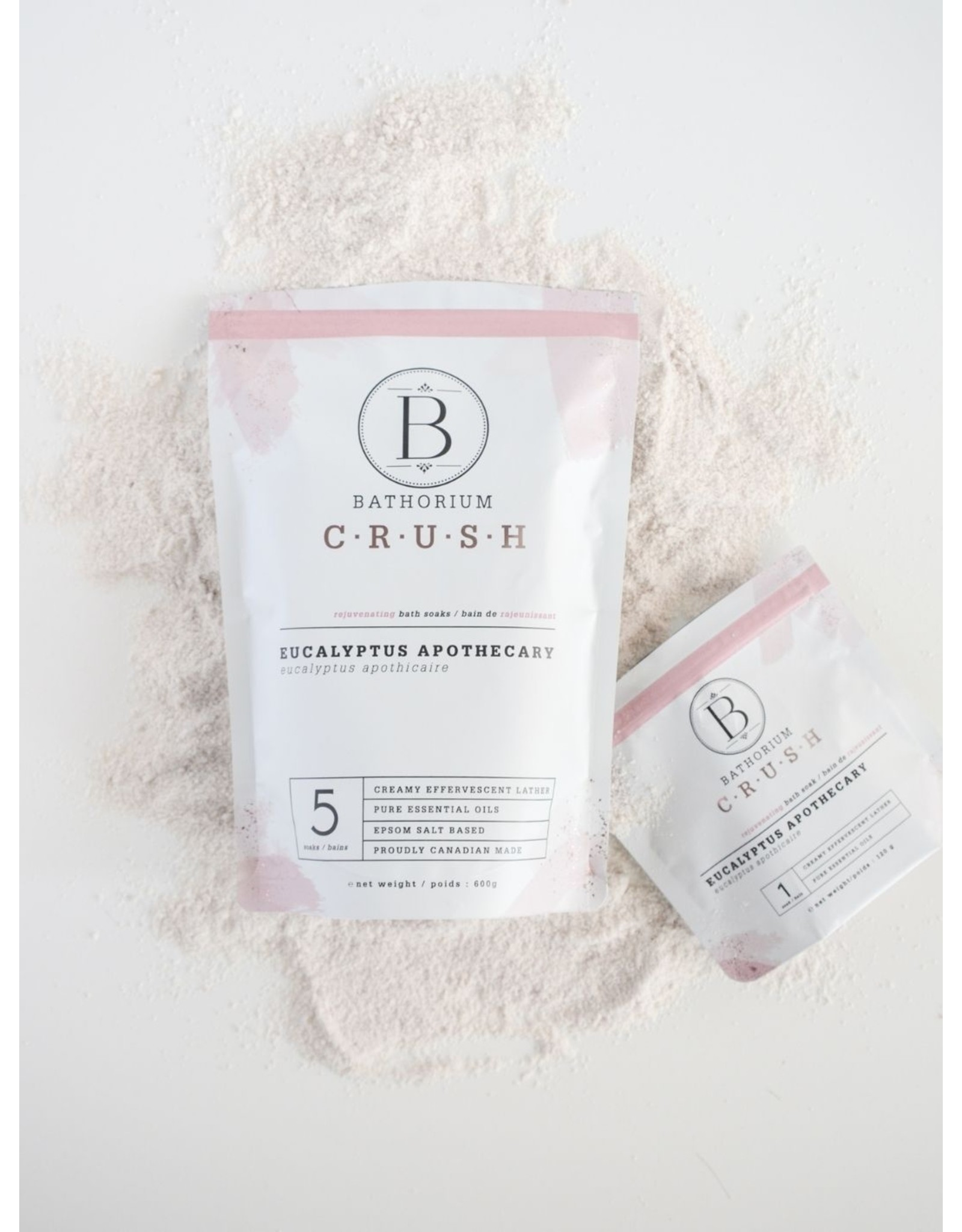 Bathorium Eucalyptus Apothecary Crush Bath Soak