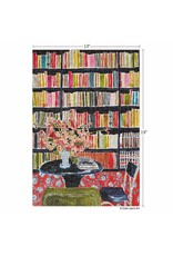 Werkshoppe Books with Flowers - 300 pc. Puzzle