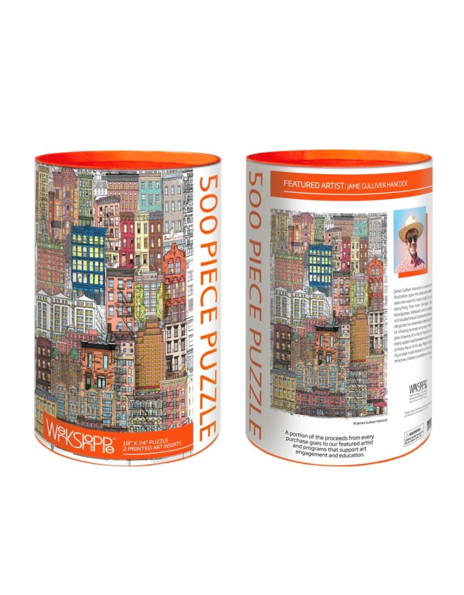 Werkshoppe City Life - 500 pc. Puzzle