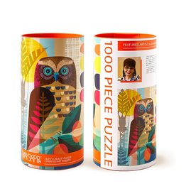 Werkshoppe Ruru Owl - 1000 pc. Puzzle