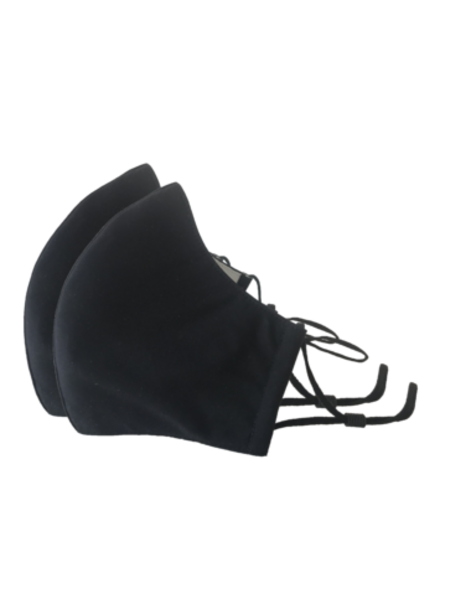Happy Natural Products 3 Layer Masks - Black