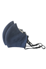 Happy Natural Products 3 Layer Masks - Navy