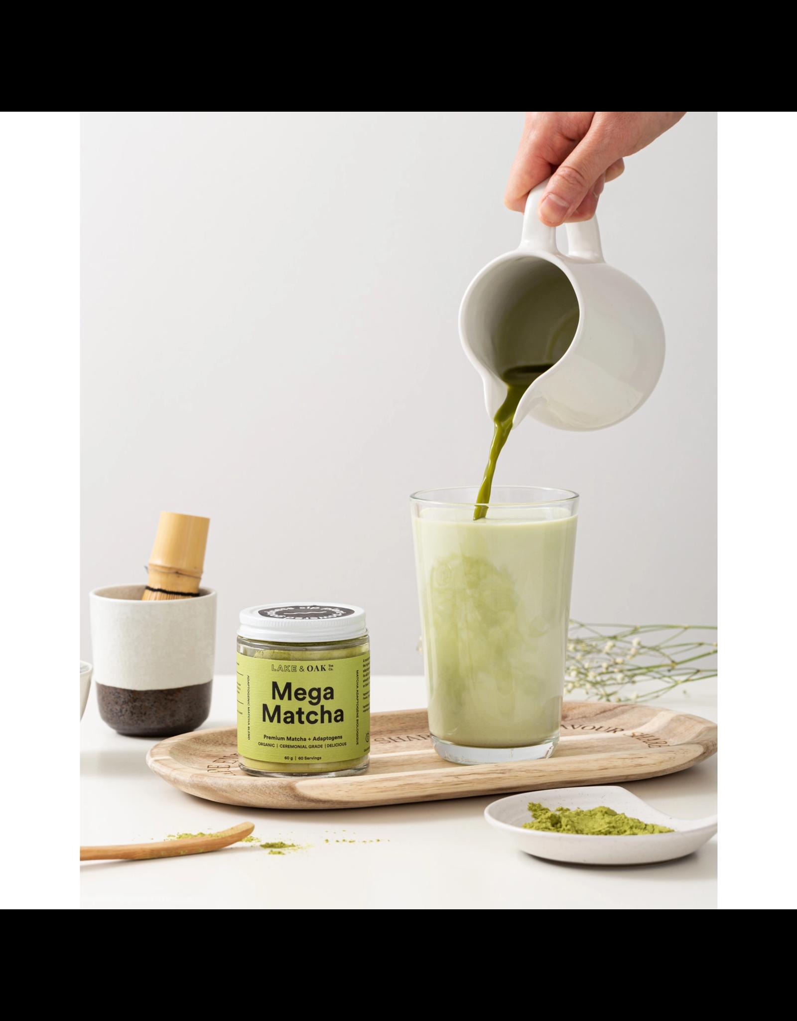 Lake & Oak Tea Co. Mega Matcha - Superfood Latte