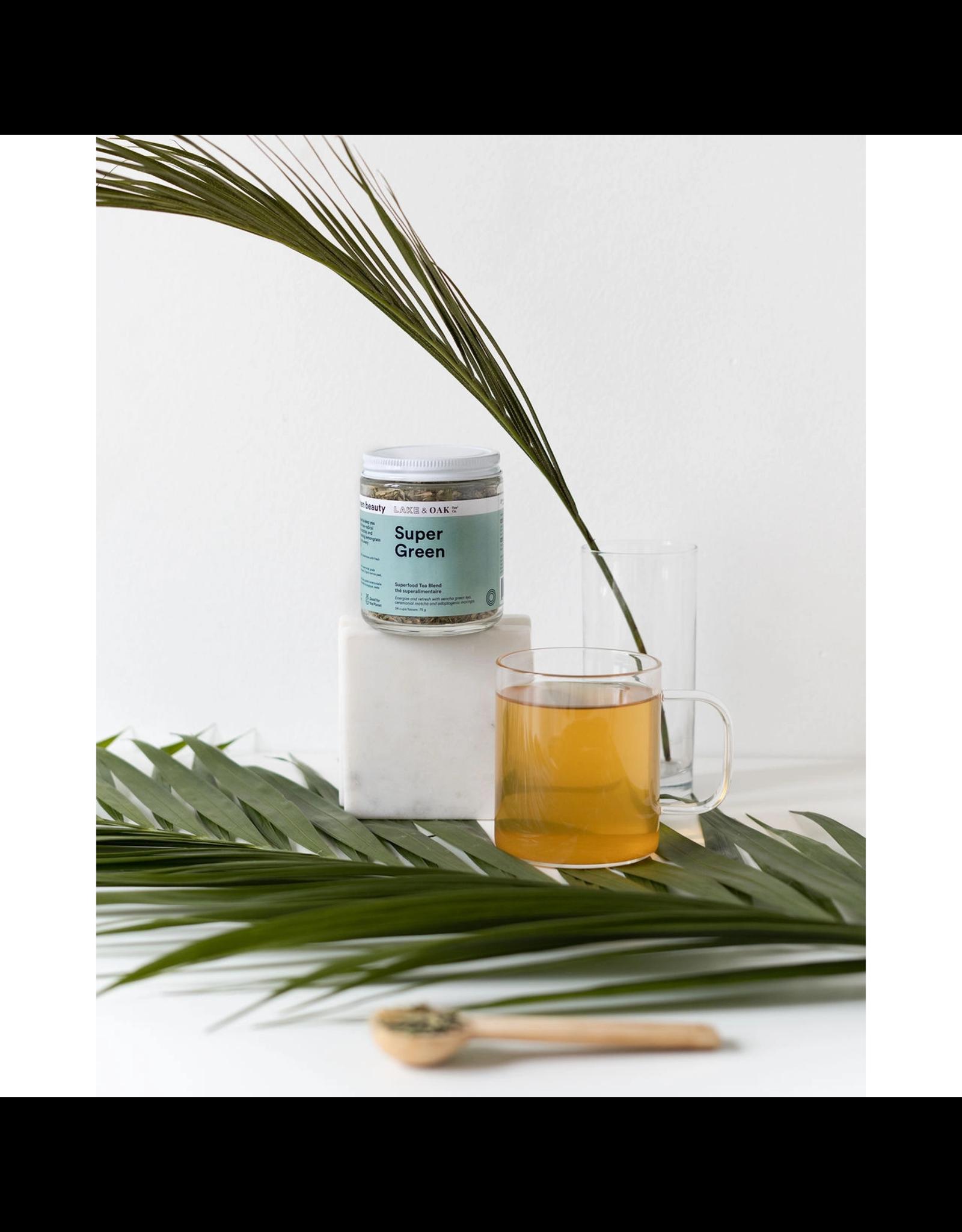 Lake & Oak Tea Co. Super Green - Superfood Tea