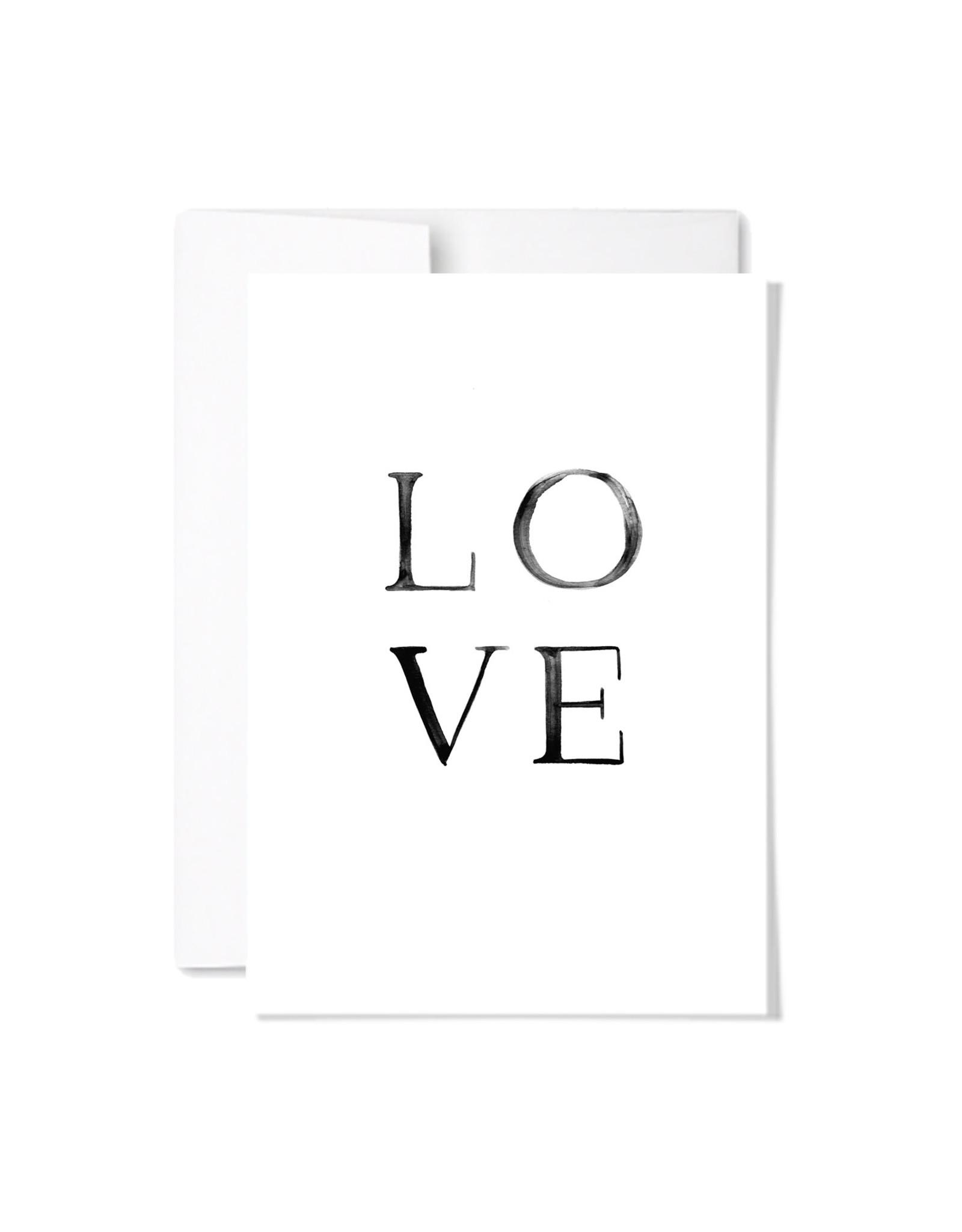 Paperscript LOVE Card