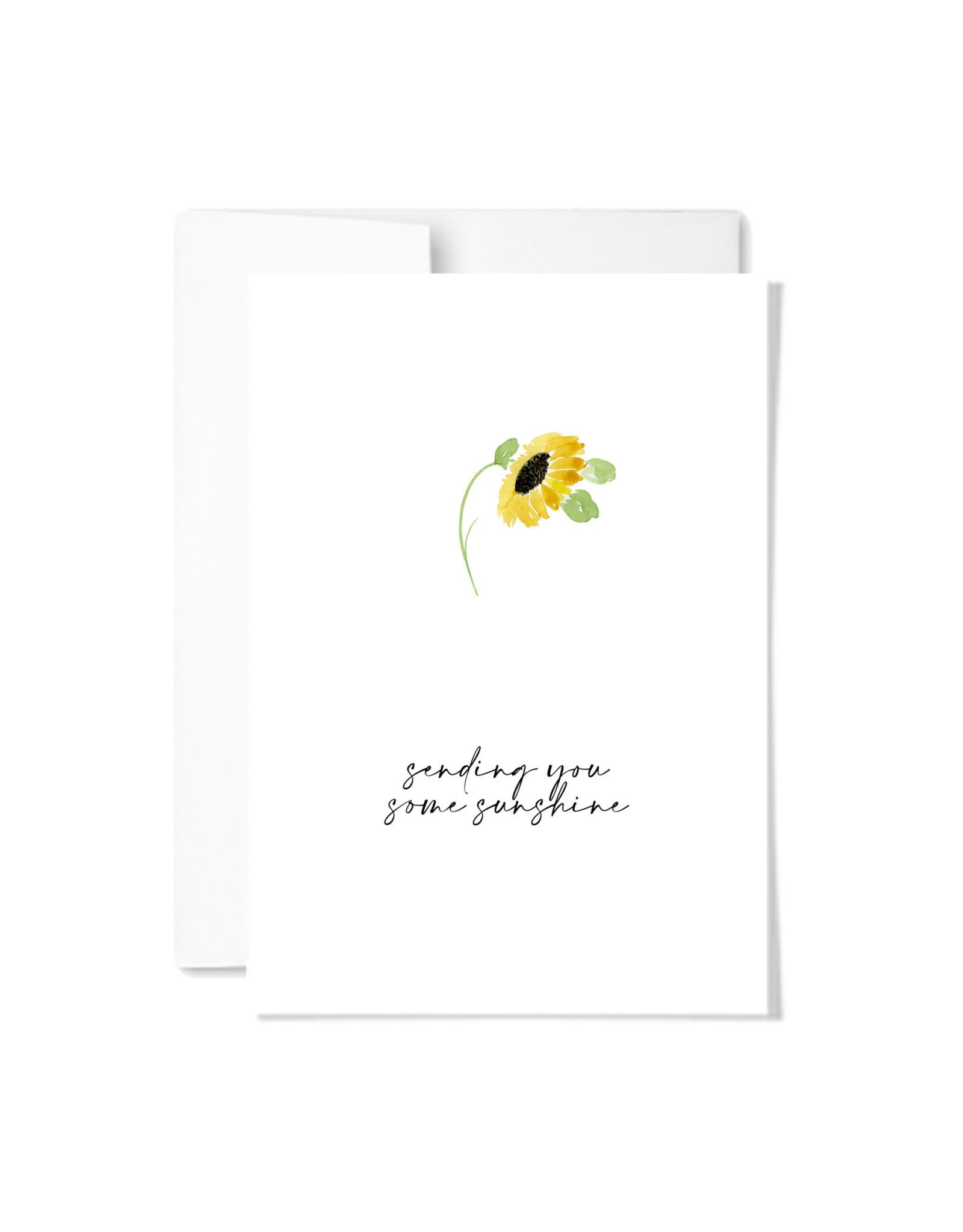 Paperscript Sending Sunshine Card