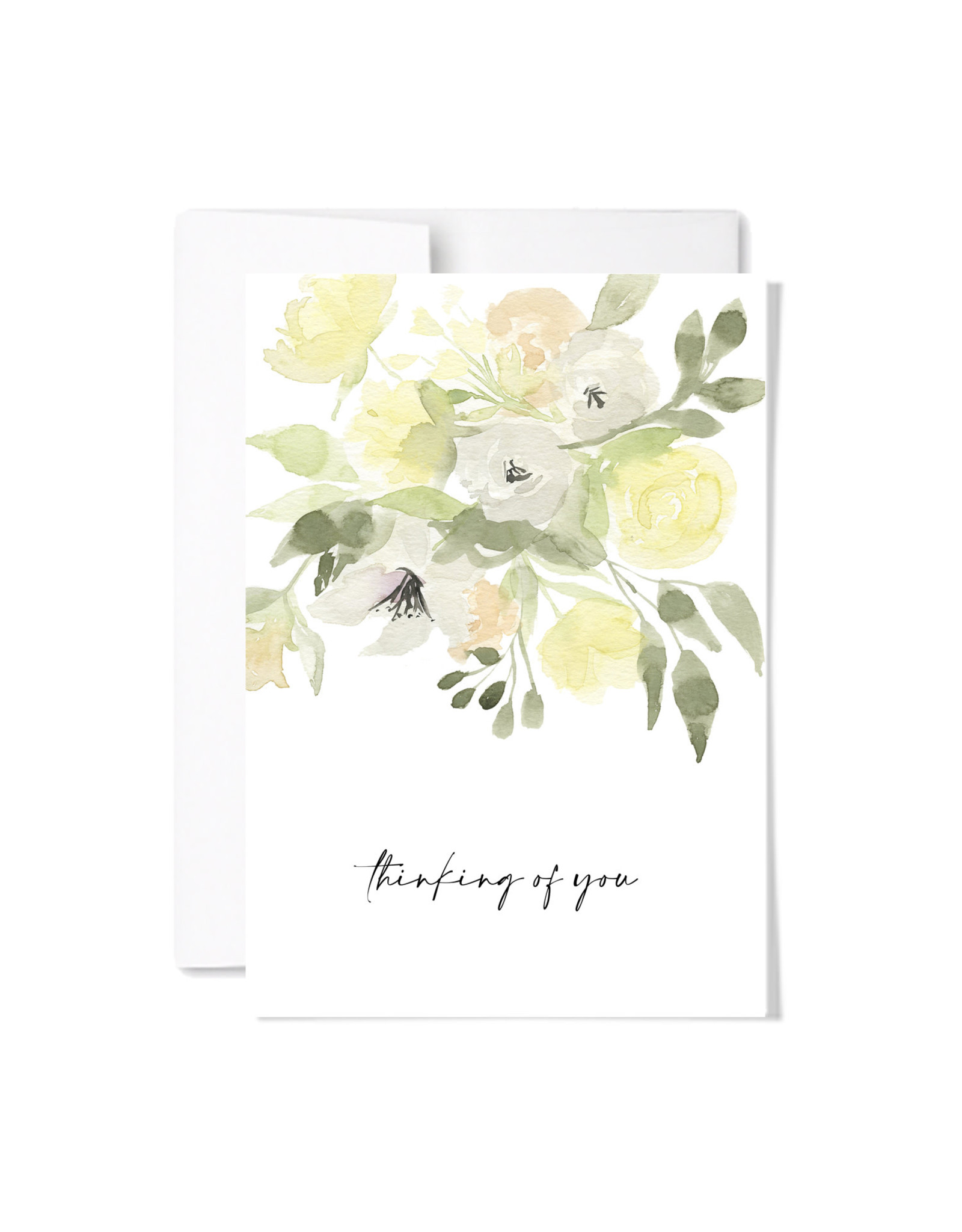 Paperscript Thinking of You Card