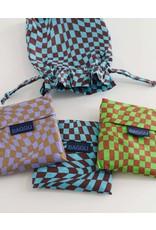 Baggu Baggu Set of 3 Reusable Bags - Trippy Checkers