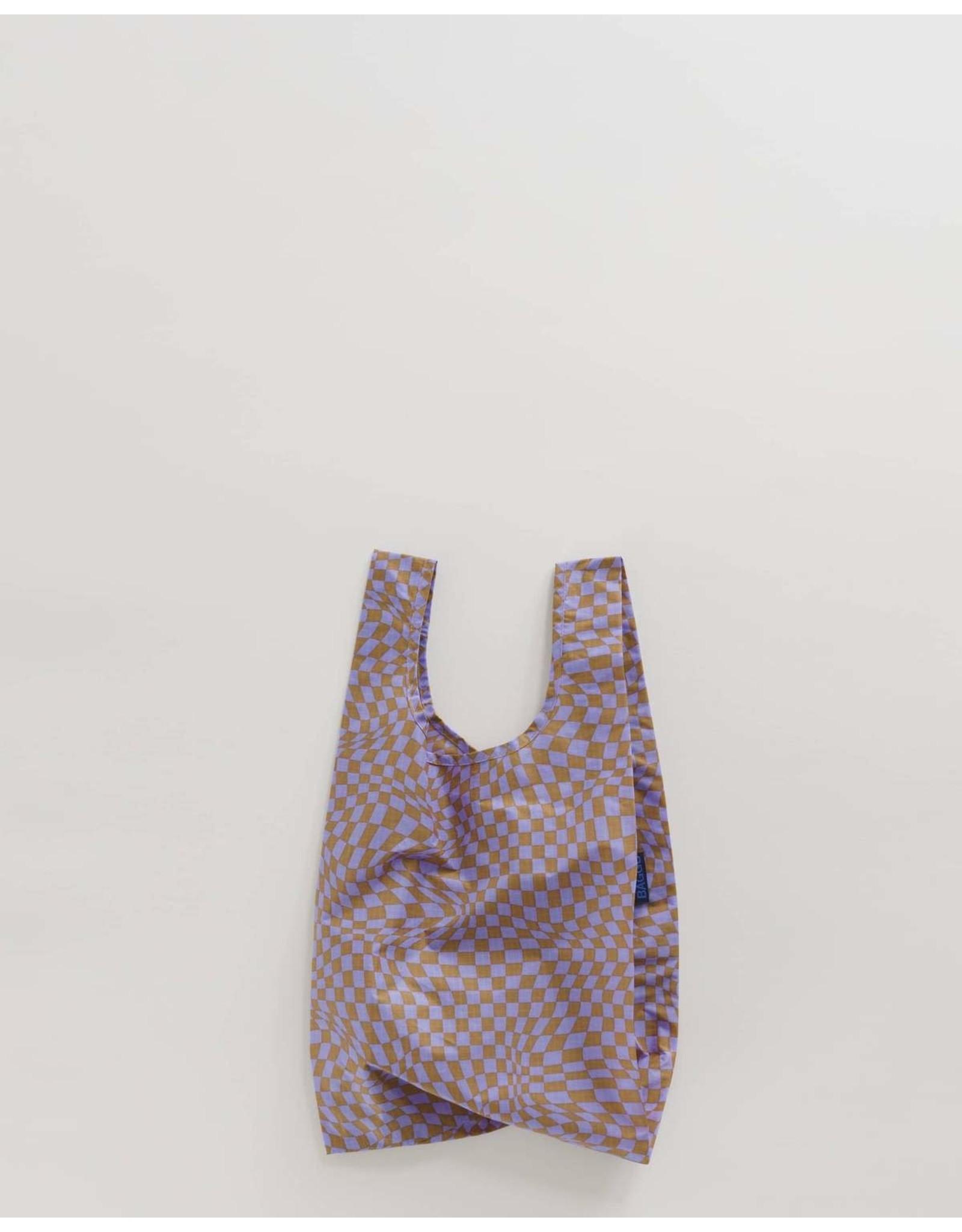 Baggu Baggu Lavender Trippy Checker Baby Reusable Bag
