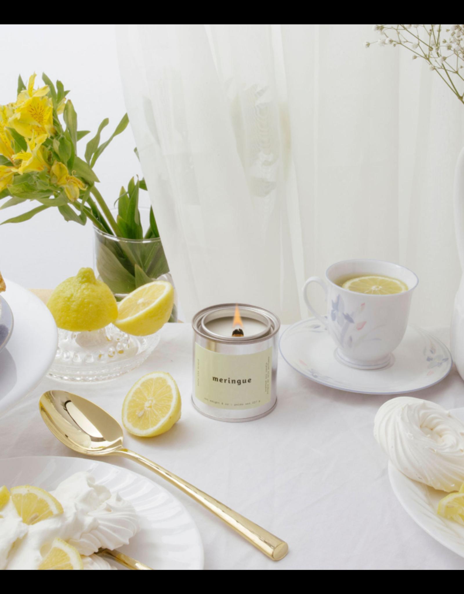 Mala The Brand Meringue Candle / Lemon + Butter + Vanilla