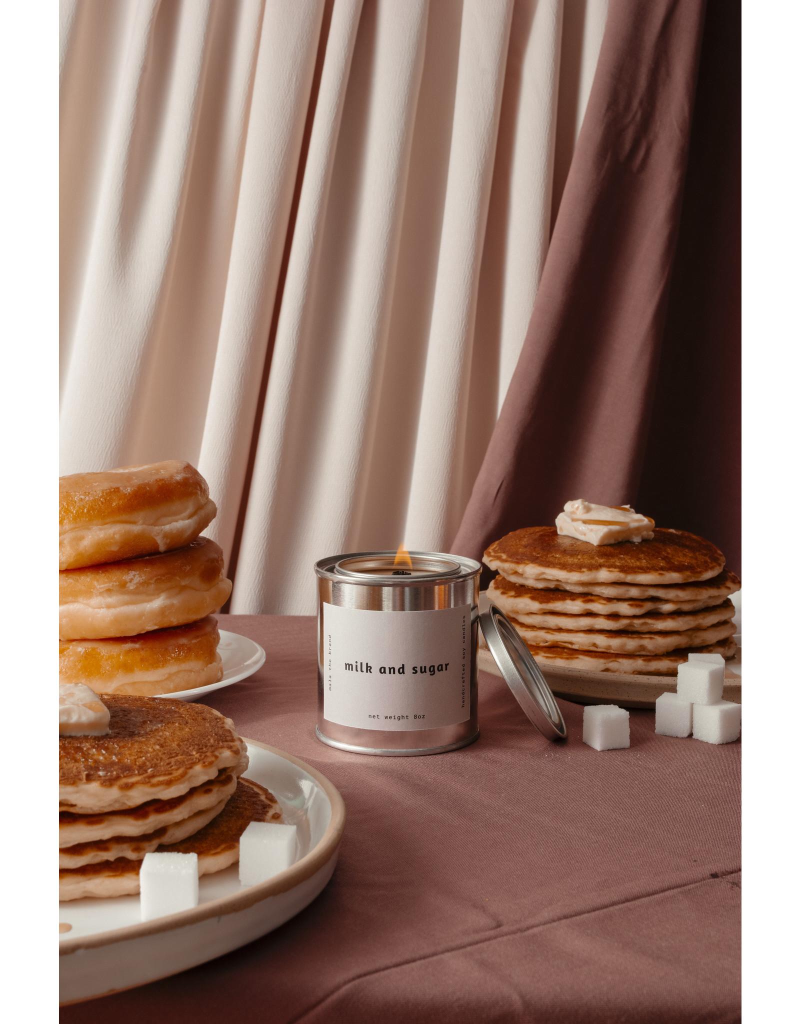 Mala The Brand Milk & Sugar Candle / Vanilla + Cinnamon + Cream