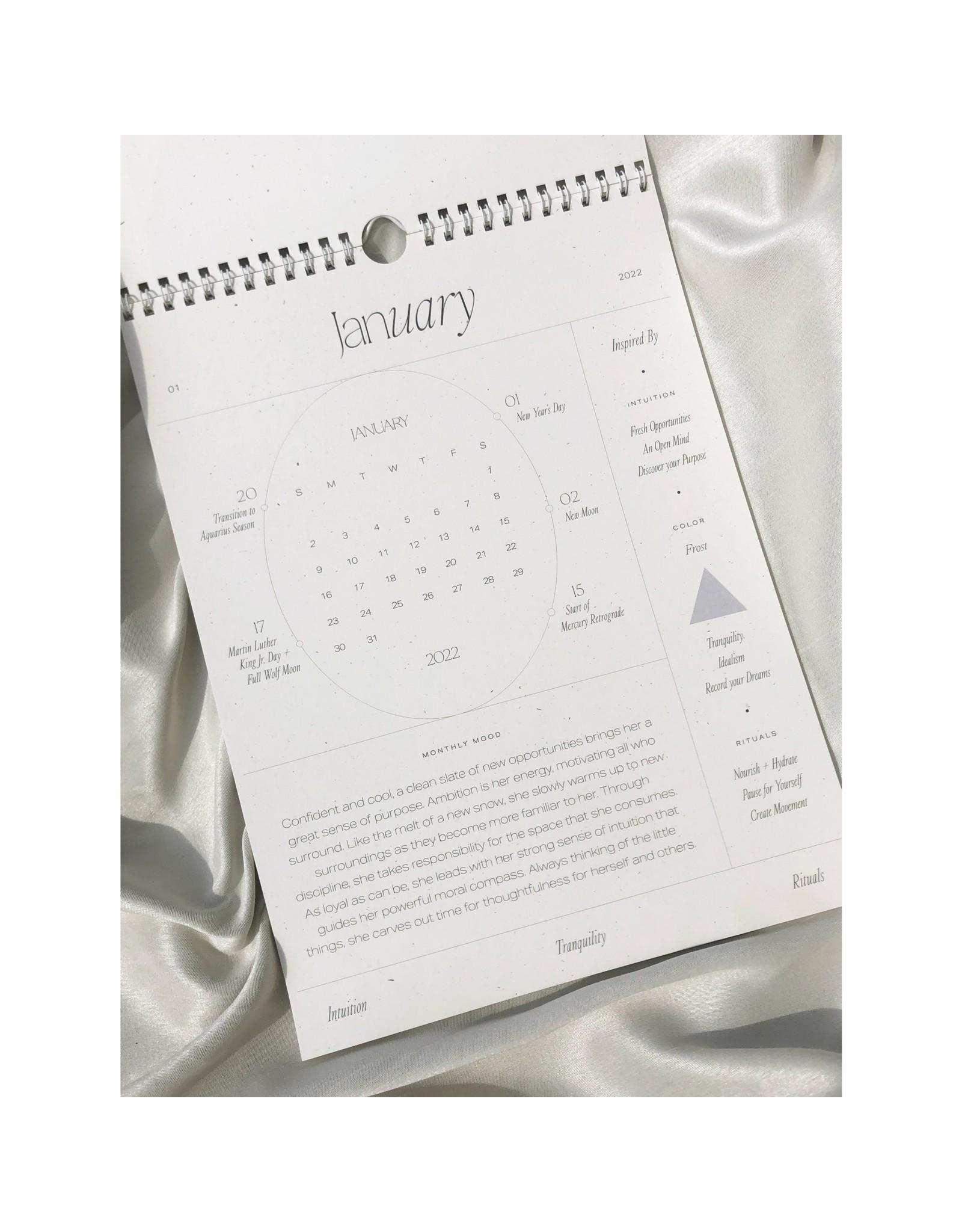 Wilde House Paper 2022 Intentional Wall Calendar