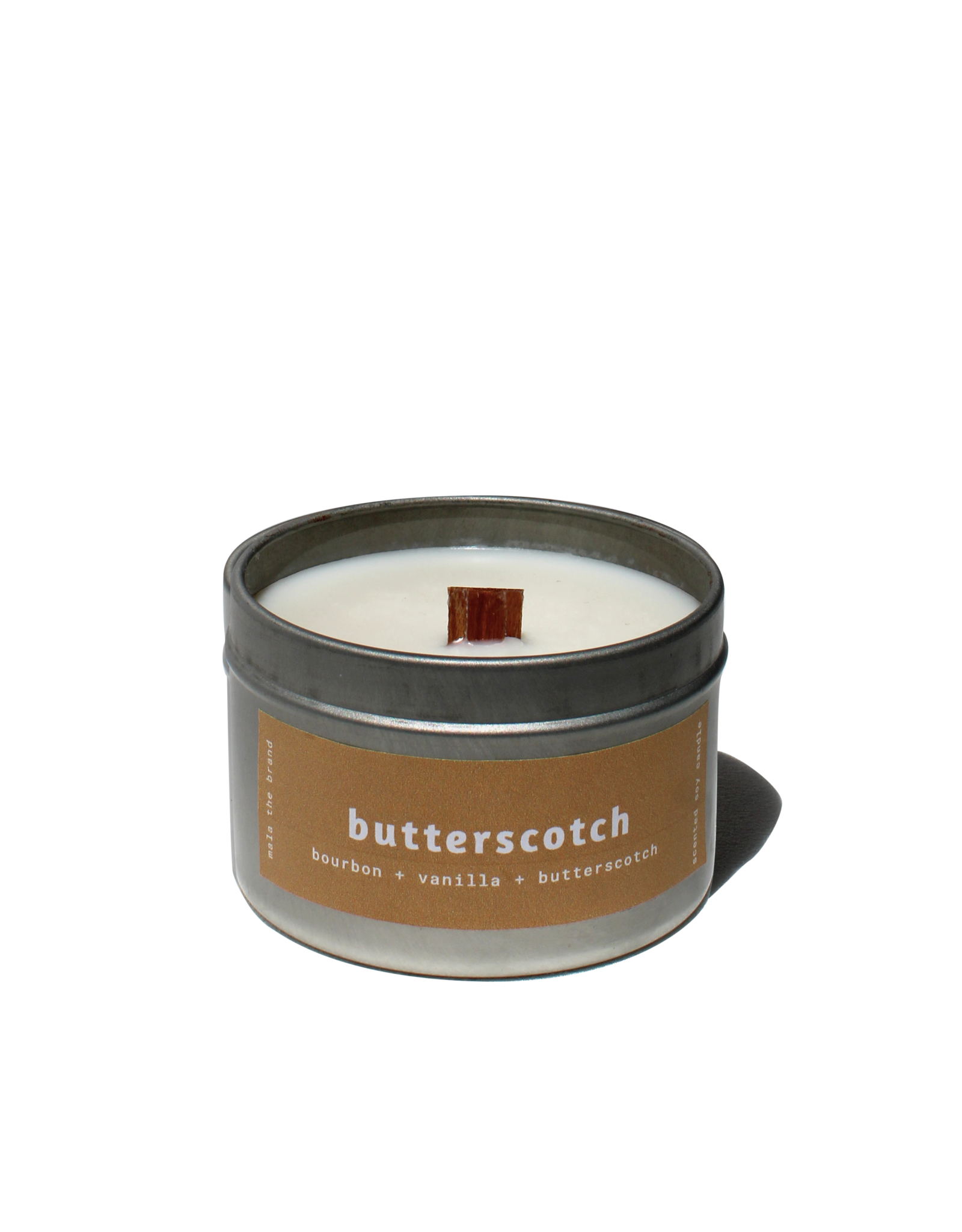 Mala The Brand Butterscotch Candle / Bourbon + Vanilla + Butterscotch 4 oz
