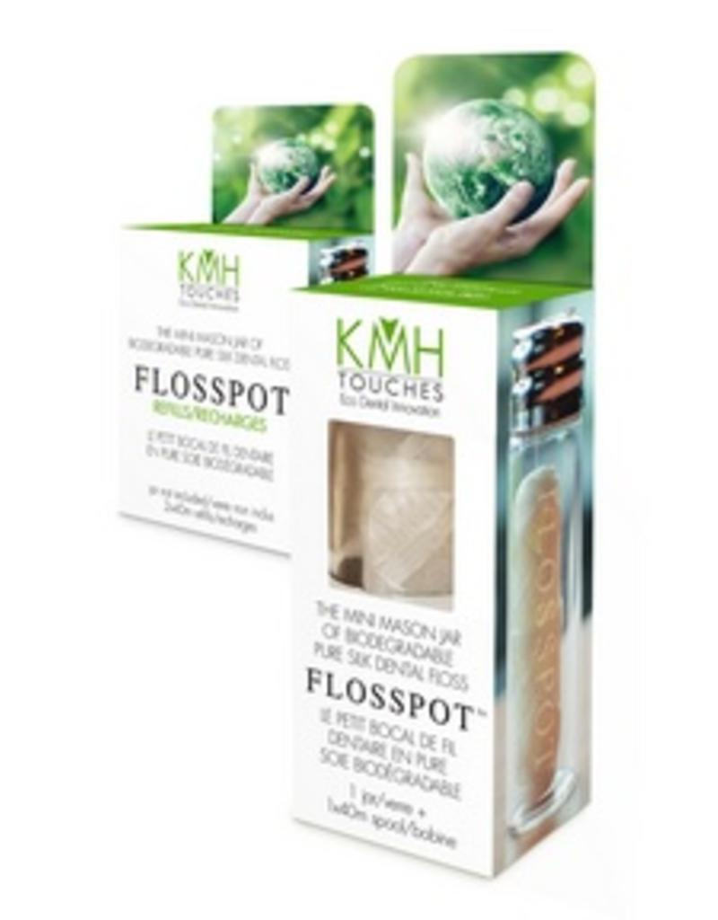 KMH Touches Flosspot Dental Floss