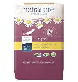 Natracare Organic Cotton Overnight Pads