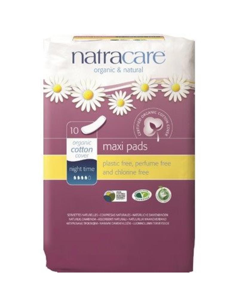 Natracare Organic Cotton Overnight Pads