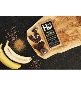 Hu Hu Crunchy Banana Dark Chocolate Bar