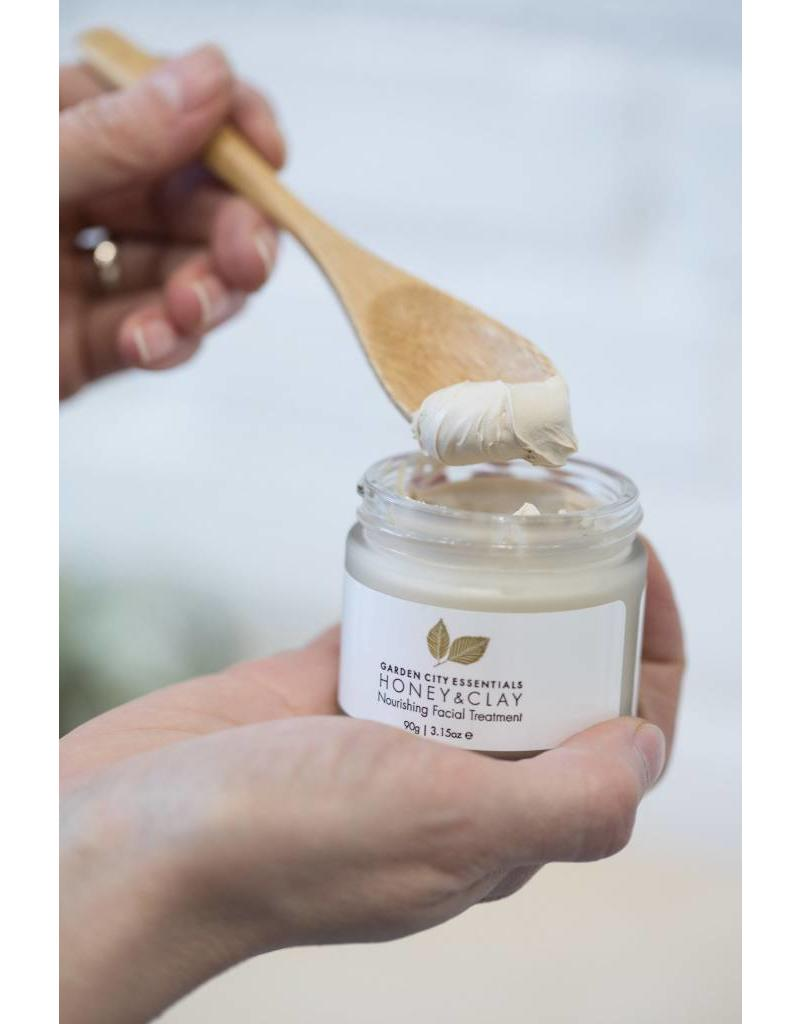 Garden City Essentials Honey & Clay Facial Treatment