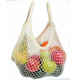 Eco-Bags Organic Un-dyed Cotton String Bag (Short Handle)