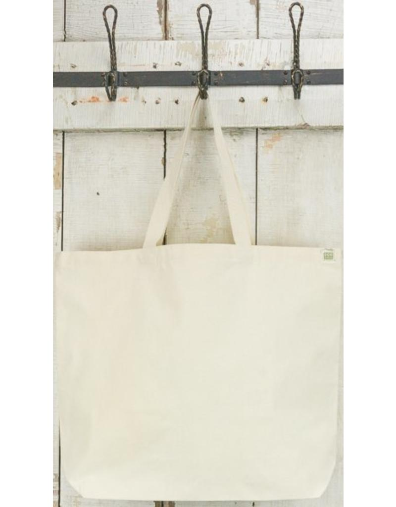 Eco-Bags Natural Cotton Canvas Tote