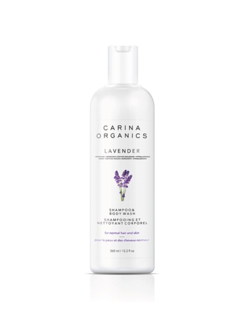 Carina Organics Carina Organics Lavender Shampoo & Body Wash
