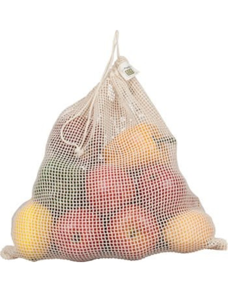 Eco-Bags Organic Cotton Mesh Produce Sack - Large