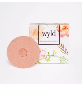 Wyld Wyld Konjac Cleansing Sponge - French Rose Clay