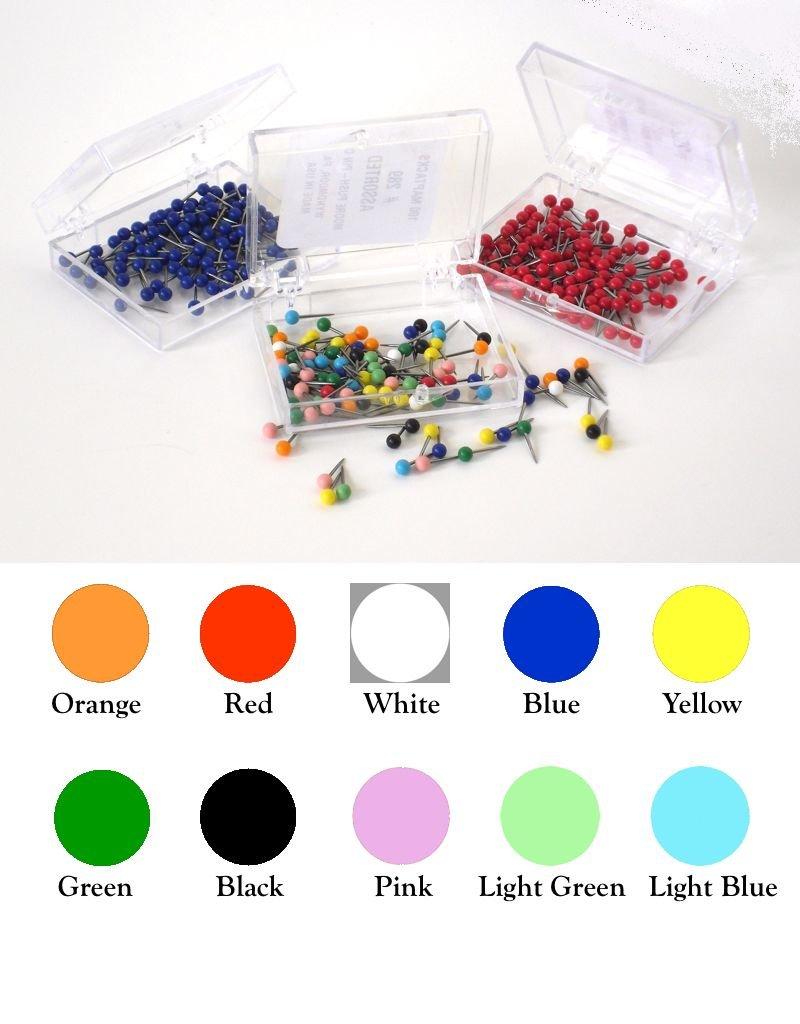 Moore Push Pin Small Ball Shaped Maptacks