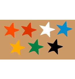Magna Visual Inc. Magnet Stars - Choose a color
