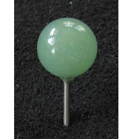 MapTacks.com Green Aventurine Gemstone Map Pins, 24 ea.