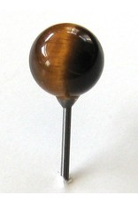 MapTacks.com Tiger Eye Gemstone Map Pins, 4 ea.