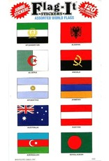 Mark-It Stickers Assorted World Flag Stickers #2500