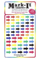 Mark-It Stickers Arrow Stickers, Pack of Mixed Colors #148