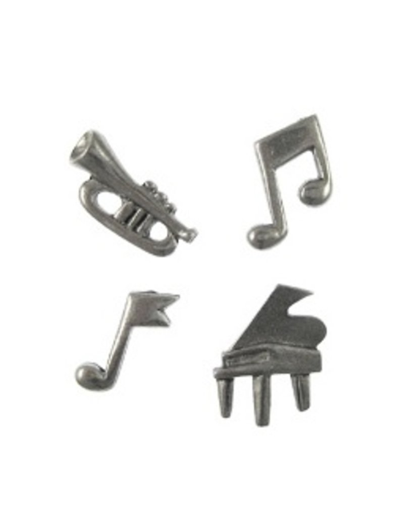 Jim Clift Designs Musical Icon Pushpins