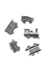 Jim Clift Designs Train Pushpins