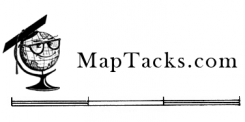 shop for map tacks, pins, number tacks, flag pins