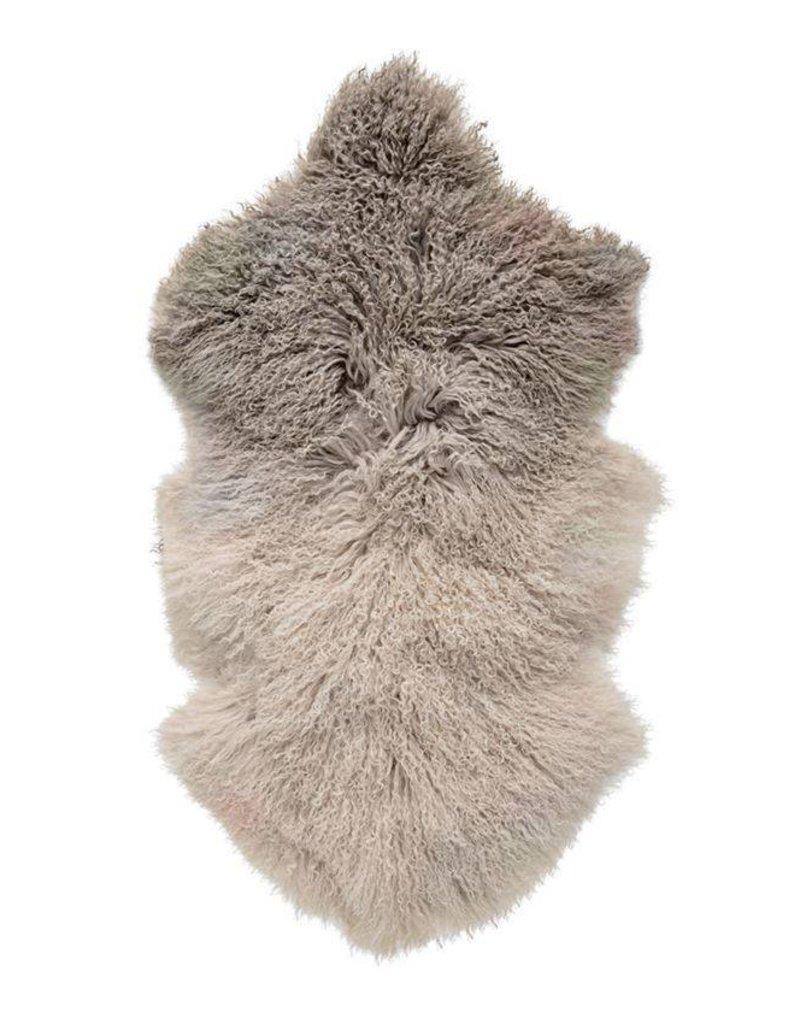 Lamb Fur Throw