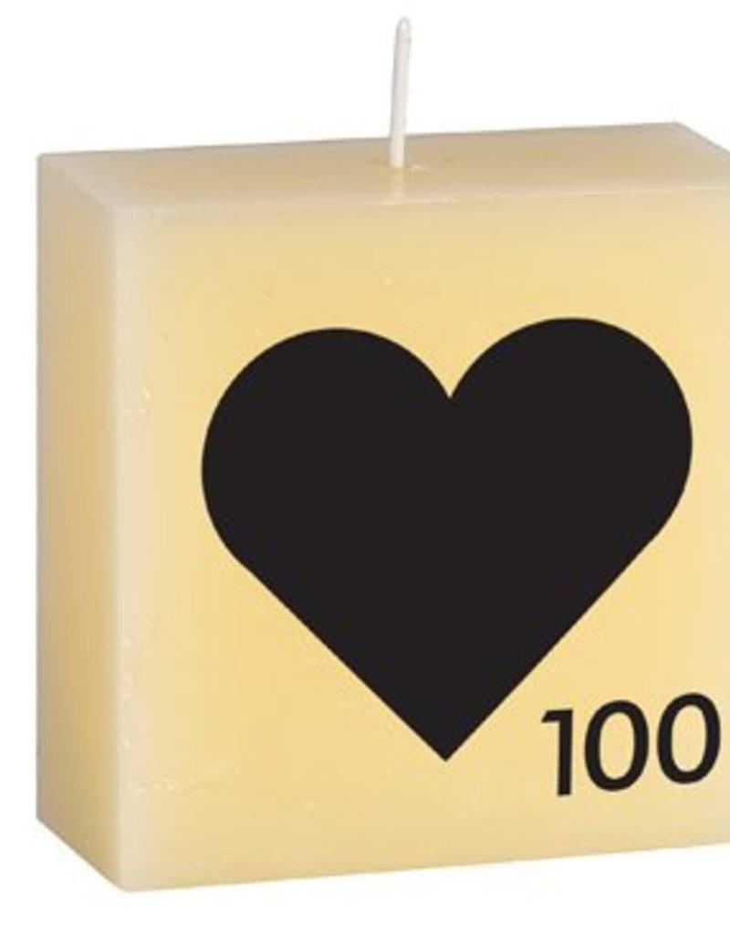Scrabble Letter Candle
